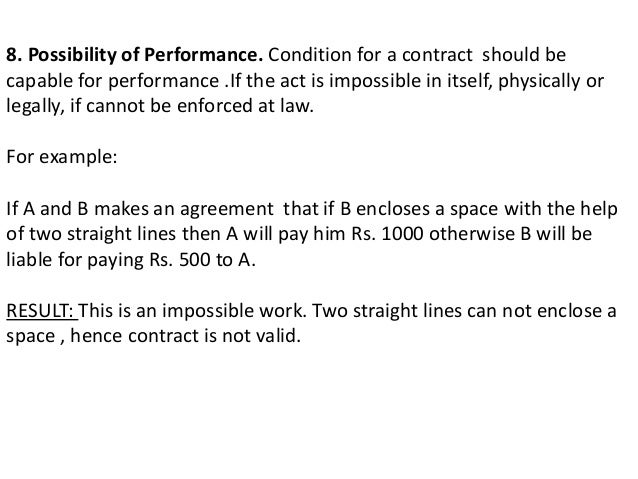 performance contract example