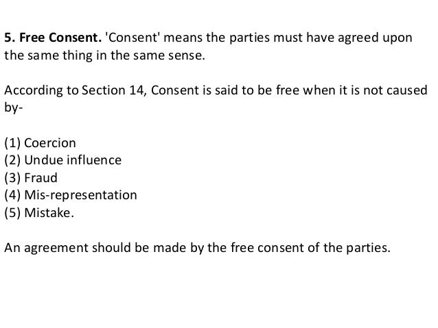 Valid Contract Essential Elements | Essential Elements Of A Valid Contract