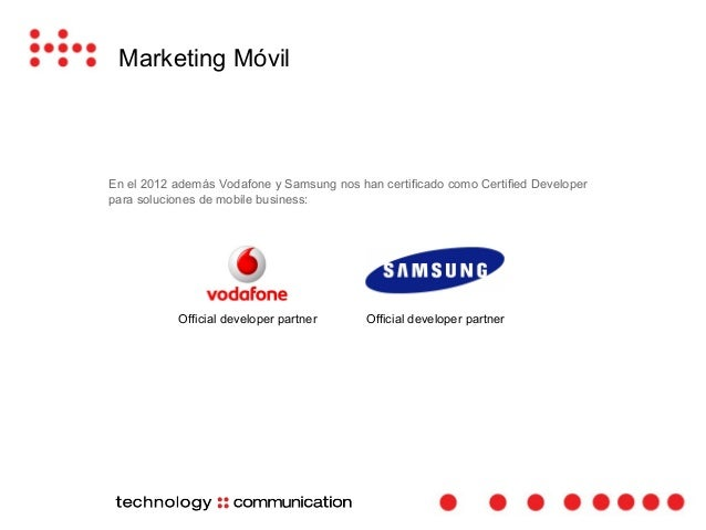 Marketing Móvil  La herramienta que permite la creación y  personalización de catálogos B2C y B2B  en dispositivos móviles...