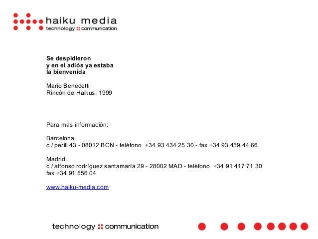 Presentación Haiku Media