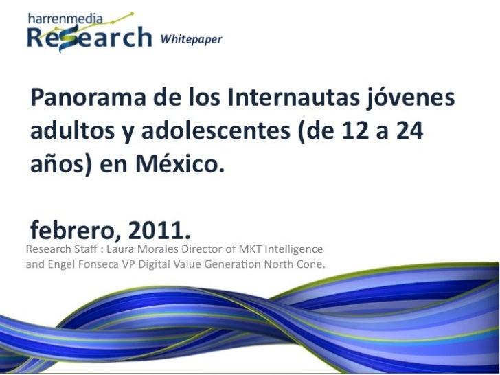 Panorama Jovenes y Teens en México. Febrero 2011