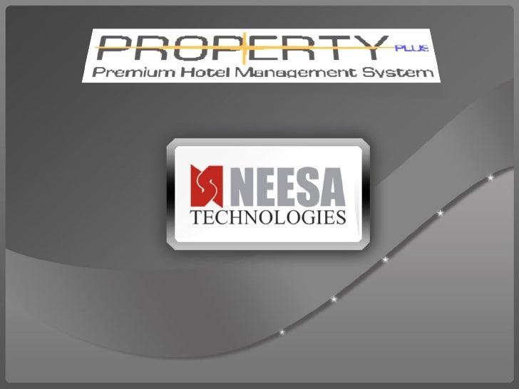 Hotel Management Software Presentation Slide 1