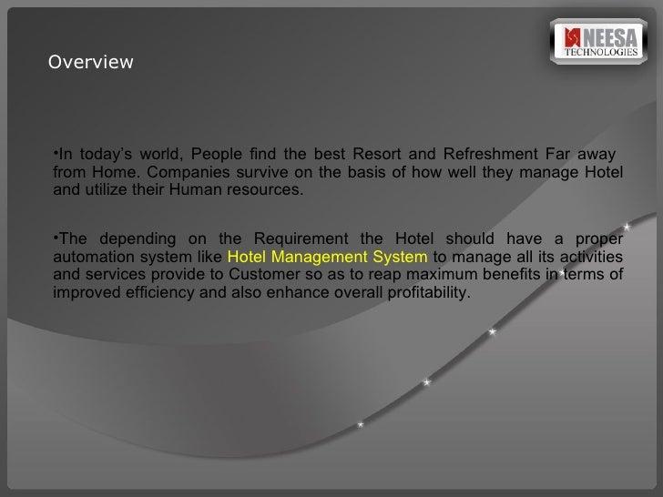 Hotel Management Software Presentation Slide 2
