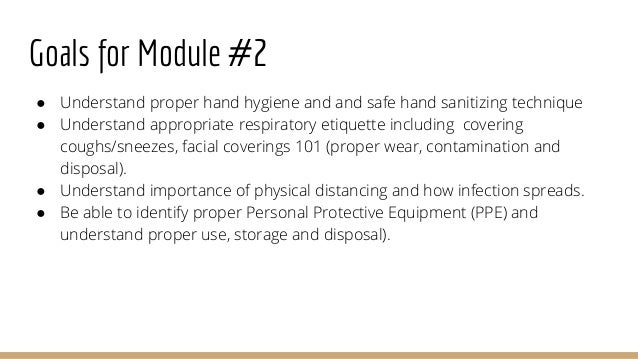 Hms covid 19 health and safety module 2-final Slide 3