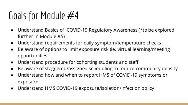 Hms covid 19 health and safety module 4-final Slide 3