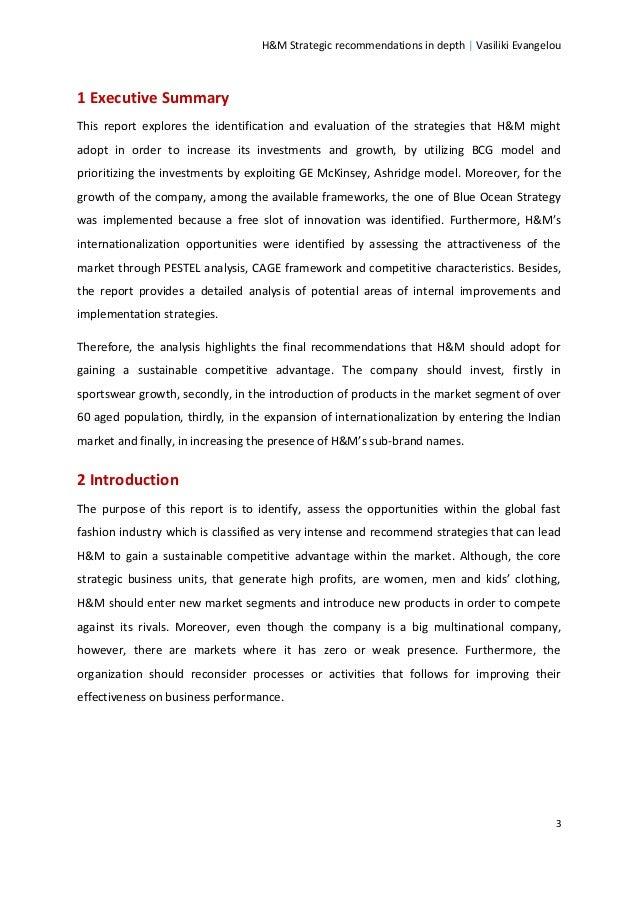 Wszystkie nowe H&M Strategic Recommendations in Depth KR08