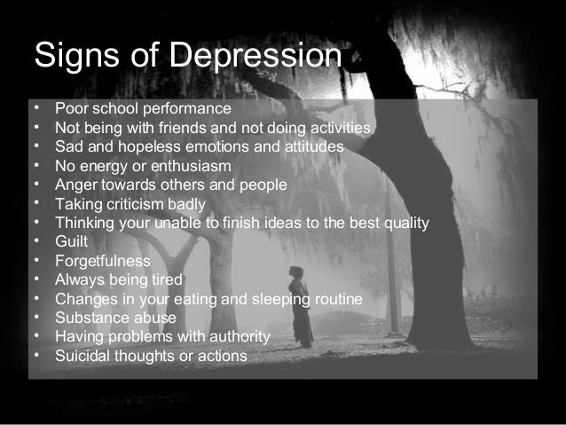 teenage depressions Depression depressive disorders are not the normal ups and downs that everyone experiences they are illnesses that affect mood, body, behavior, and mind.