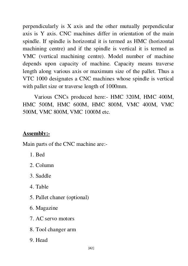 Hmt machine tools summer training report 42 perpendicularly spiritdancerdesigns Choice Image