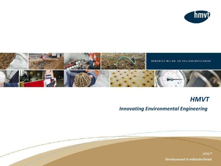 HMVT Innovating Environmental Engineering