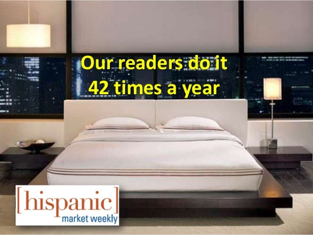Our readers do it 42 times a year
