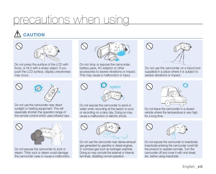 Samsung Camcorder HMX-H100N User Manual