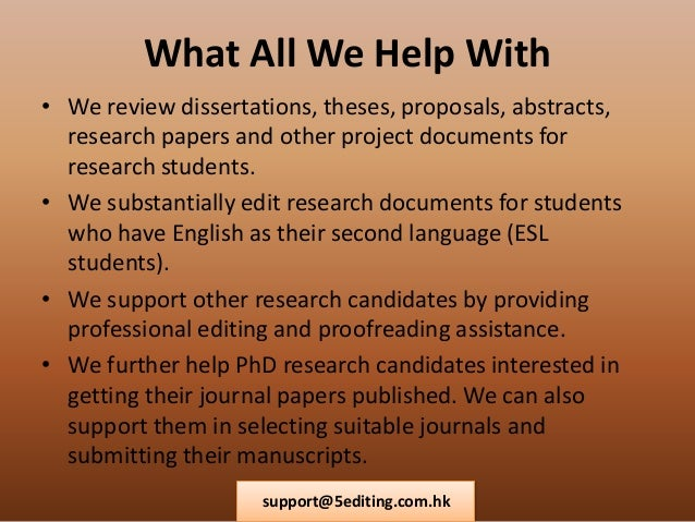 English editing service hong kong