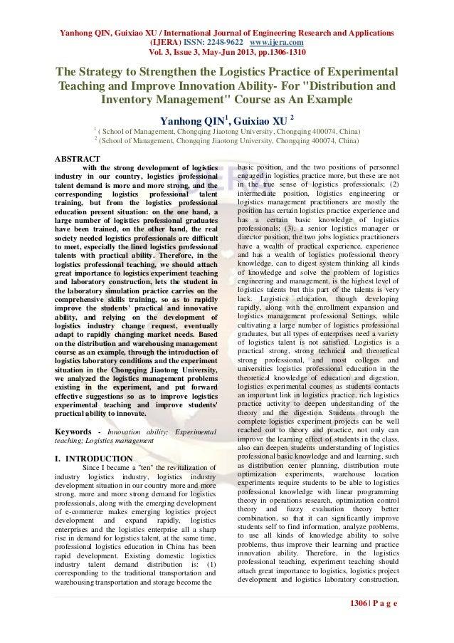 Yanhong QIN, Guixiao XU / International Journal of Engineering Research and Applications(IJERA) ISSN: 2248-9622 www.ijera....