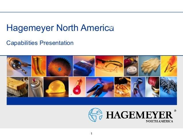 1 Hagemeyer North America Capabilities Presentation Title slide photo options