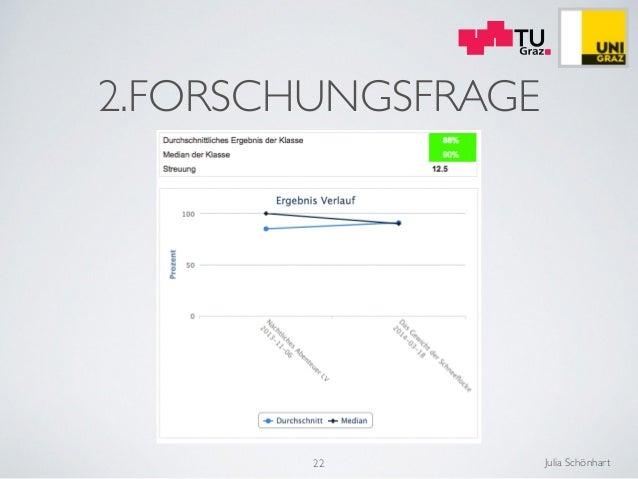 Julia Schönhart 2.FORSCHUNGSFRAGE 22