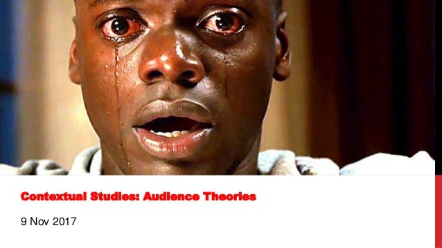 Contextual Studies: Audience Theories 9 Nov 2017