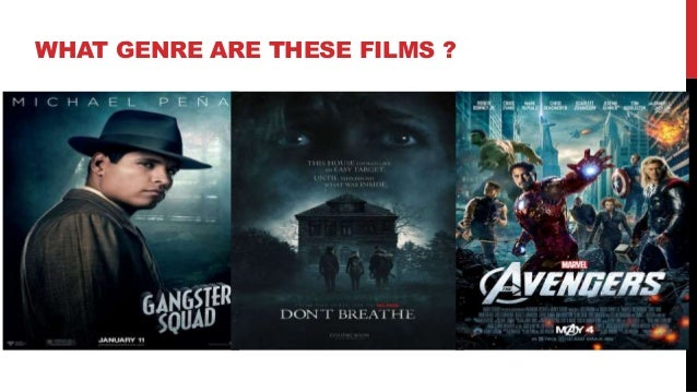WHAT GENRE ARE THESE FILMS ?