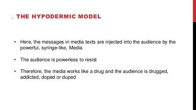 Contextual studies Audience Theories pt1
