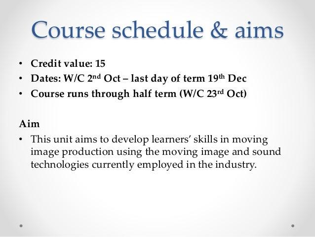 Practical skills week 1 Slide 3
