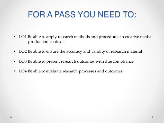 Research skills overview Slide 3