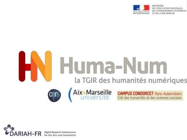 MISSION « Faciliter le tournant numérique de la recherche en sciences humaines et sociales dans la production et la réutil...