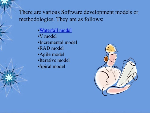 software development methodologies and their application