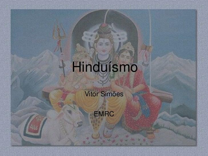 Hinduísmo Vitor Simões   EMRC
