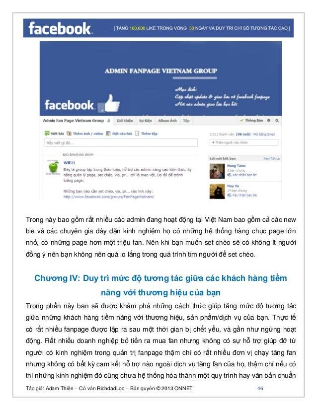 Tác giả: Adam Thiên – Cố vấn RichdadLoc – Bản quyền © 2013 ONNET 47 để hướng dẫn chuyên giao cho khách hàng. Bởi đôi khi h...