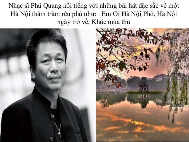 """Đêm nhạc Phú Quang """"Hà nội ơi, còn mãi một tình yêu"""""""
