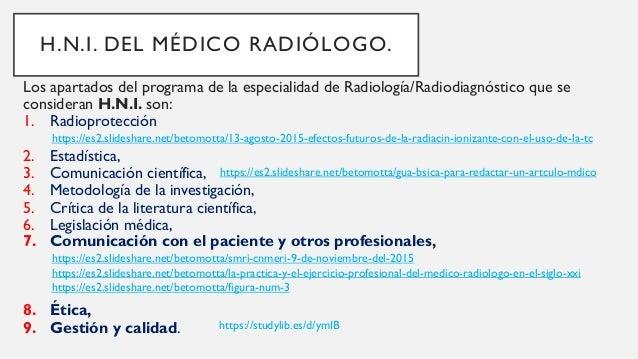 HABILIDADES EN LA METODOLOGÍA DE LA INVESTIGACIÓN El médico radiólogo en la formación de habilidades en la aplicación de ...