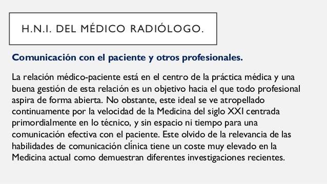 Comunicación con el paciente y otros profesionales. La enseñanza al pie de la cama se ha considerado durante mucho tiempo ...