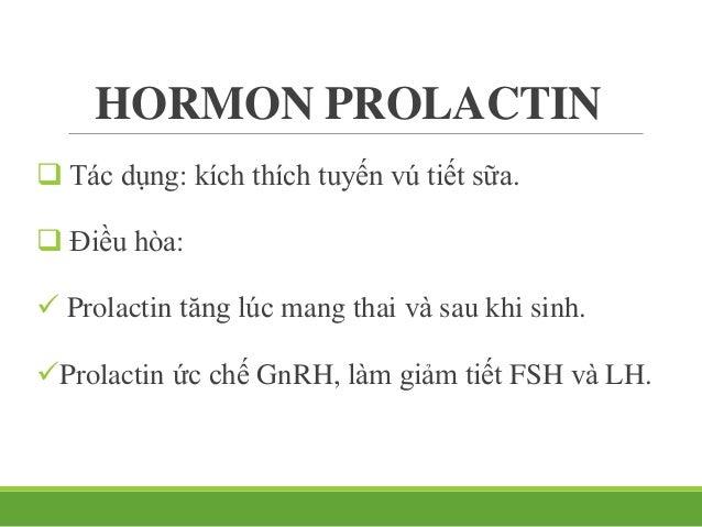 Thùy sau Chứa và tiết vào máu: ADH: hormon chống bài niệu. Oxytocin: hormon gây co cơ trơn.