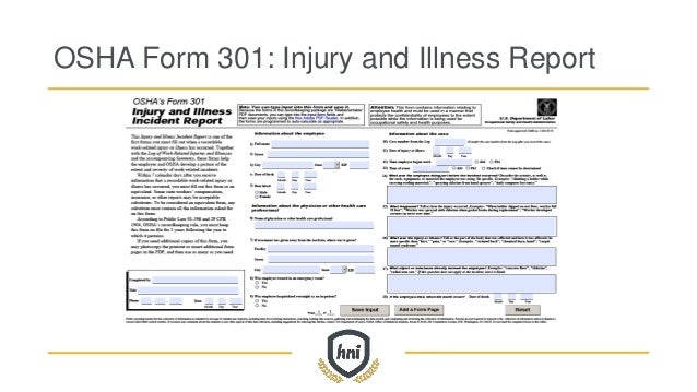 Your Compliance Manual to OSHA's 300 and 300A Forms