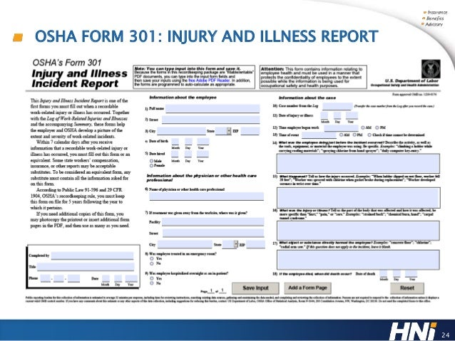 OSHA Forms 300 & 300A: Your Painless Path to Compliance by the Feb. 1…