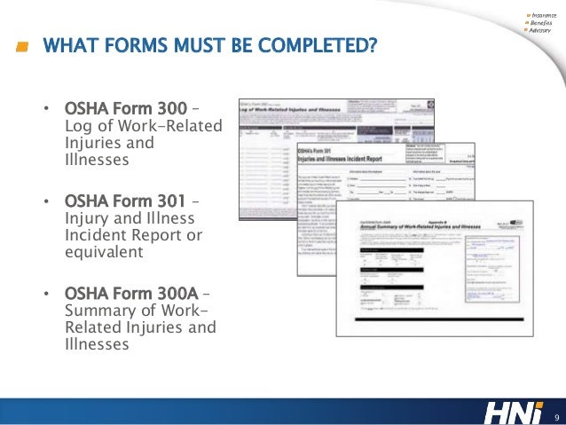 Osha Forms   A Your Painless Path To Compliance By The Feb