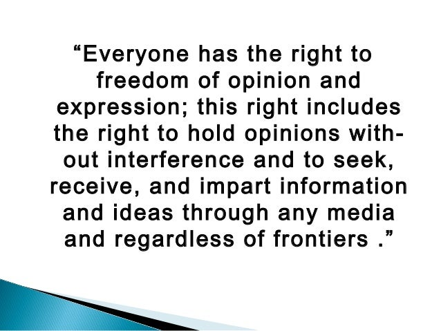 the meaning of freedom of expression Freedom of expression campaign within individual countries, freedom  states  on key freedom of expression issues and to resist attempts to restrict freedom of.