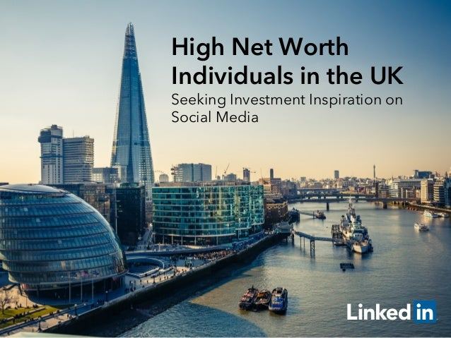 high net worth The global number of high-net-worth individuals (hnwis) grew by 75% to 165m last year, according to the 2017 world wealth report by capgemini, a consulting firm.