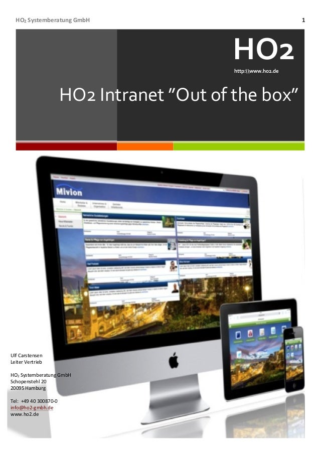HO2  Systemberatung  GmbH   1                           HO2              ...