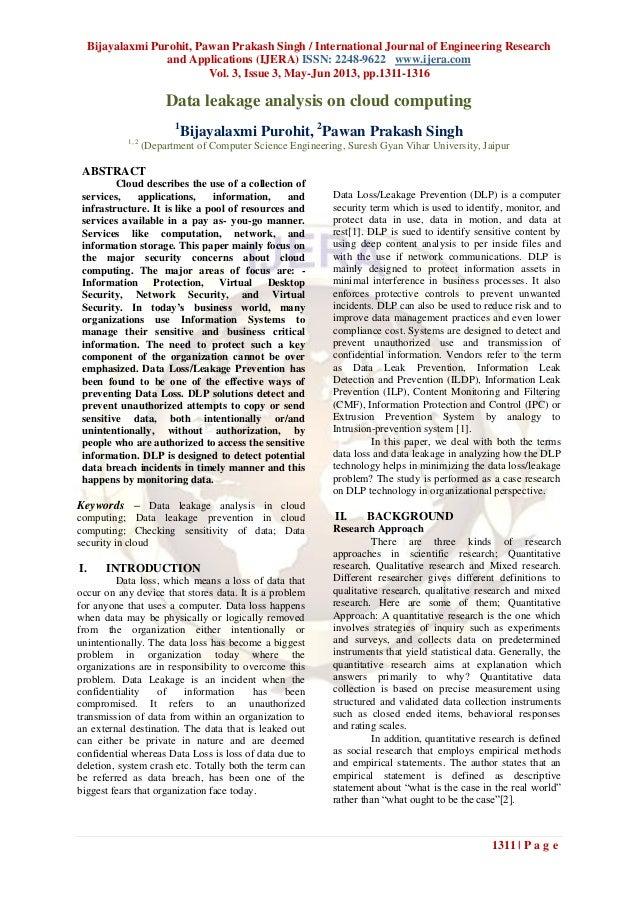 Bijayalaxmi Purohit, Pawan Prakash Singh / International Journal of Engineering Researchand Applications (IJERA) ISSN: 224...