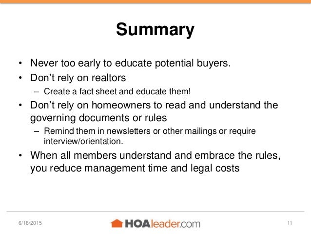 How to Create a New-Owner Orientation Program for Your HOA