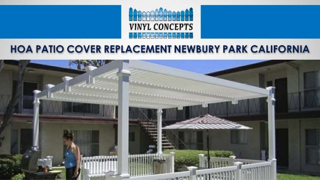 Hoa Patio Cover Replacement Newbury Park California
