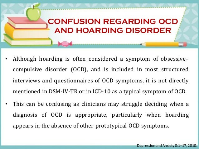 compulsive hoarding syndrome essay List of famous and well known people who had or have obsessive compulsive disorder (ocd) screen  in many patients with gilles de la tourette's syndrome,.