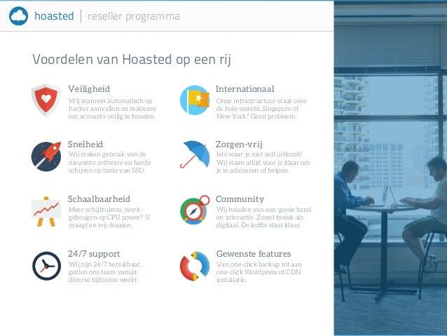 hoasted reseller programma  Voordelen van Hoasted op een rij  Veiligheid  Wij scannen automatisch op  hacker aanvallen en ...