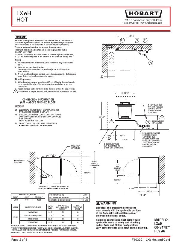 hobart dishwasher wiring diagram vertical house wiring diagram rh maxturner co hobart dishwasher crs66a wiring diagram
