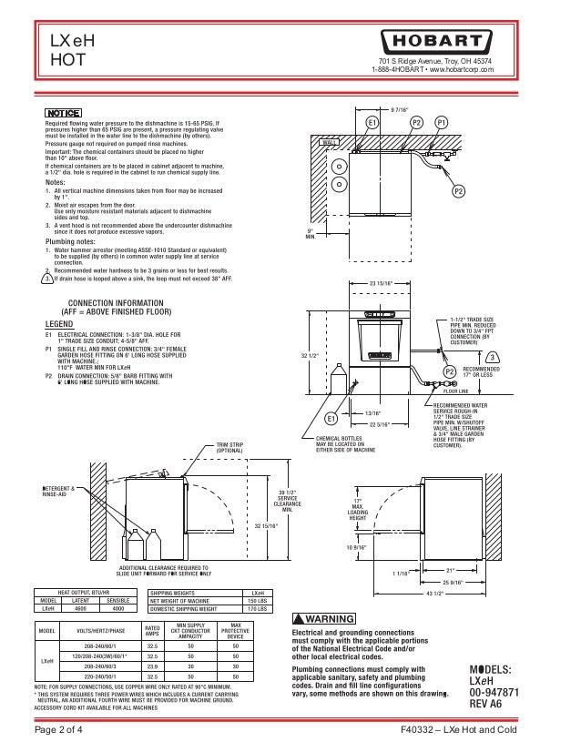 hobart dishwasher wiring diagram vertical house wiring diagram rh maxturner co  hobart dishwasher crs66a wiring diagram