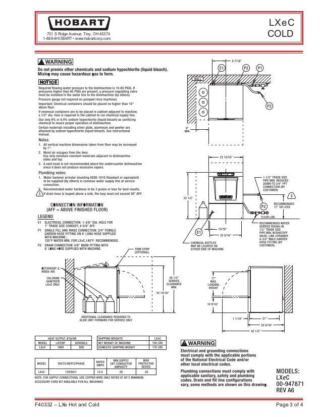 hobart c44a wiring schematic basic wiring diagram u2022 rh dev spokeapartments com Dishwasher Electrical Wiring proper wire size for dishwasher