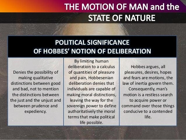 Analysis thomas hobbess claim a state