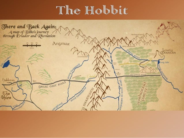 The Hobbit Mapping Bilbos Journey – Mapping Travel Route