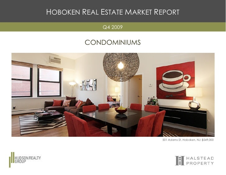 Hoboken Real Estate Market Report Q4 2009