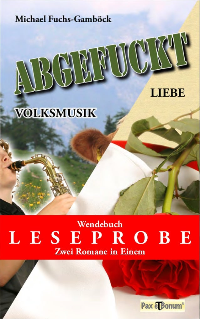 Wendebuch  L E S E P R O B E  Zwei Romane in Einem